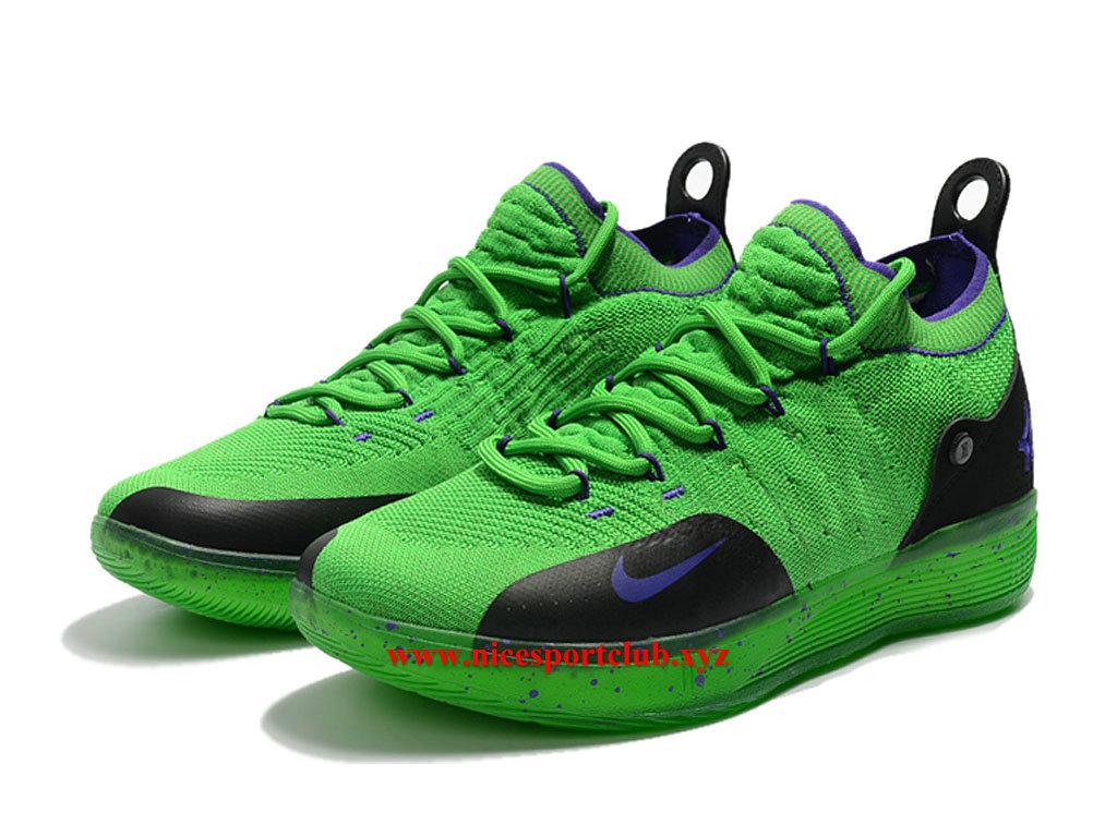best service 89a2e 3a863 Kd Id Basketball Vertnoir Nike 11 Pas Homme Chaussures Prix