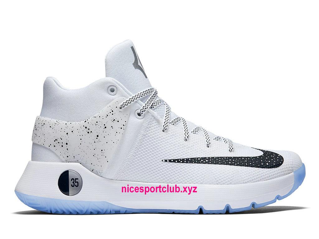 buy online be51a ccc8d Chaussures De BasketBall Nike KD Trey 5 IV Premium Prix Homme Pas Cher  Blanc Bleu ...