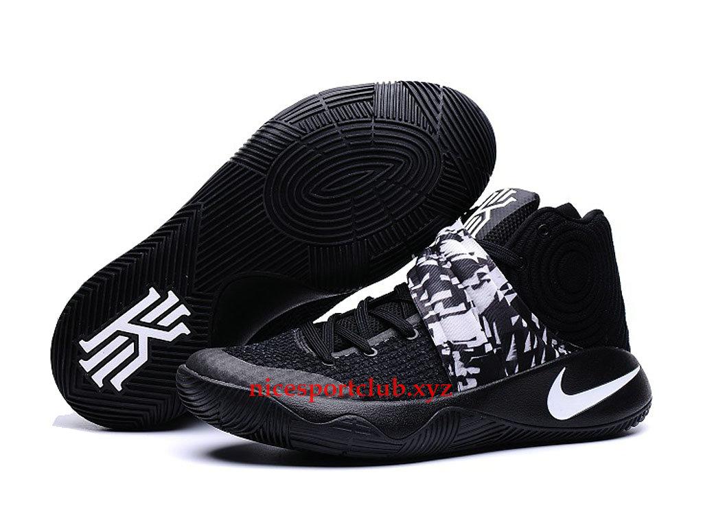 size 40 975bb 83f6c ... reduced chaussures de basketball nike kyrie 2 prix pas cher pour homme noir  blanc 706678 845e1