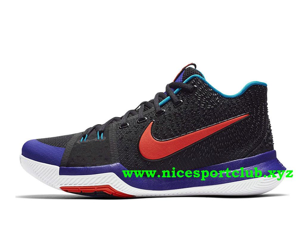 quality design c91c6 7d711 ... new zealand chaussures de basketball nike kyrie 3 kyrache light prix  pas cher pour homme noir ...