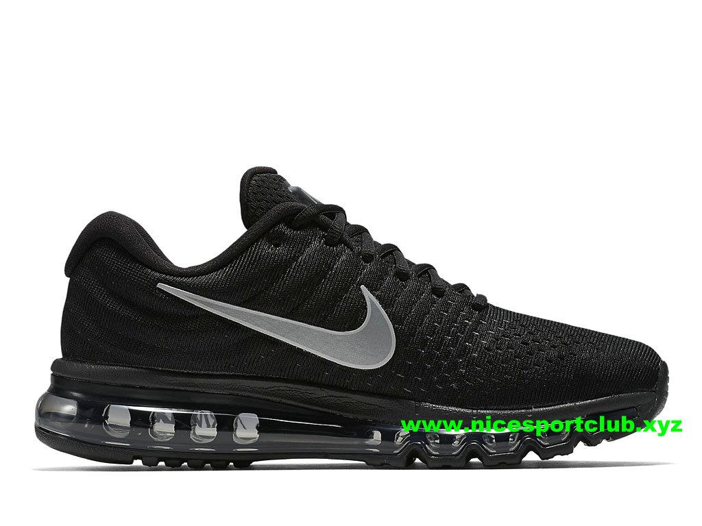 Chaussures De Running Homme Nike Air Max 2017 Pas Cher NoirGris