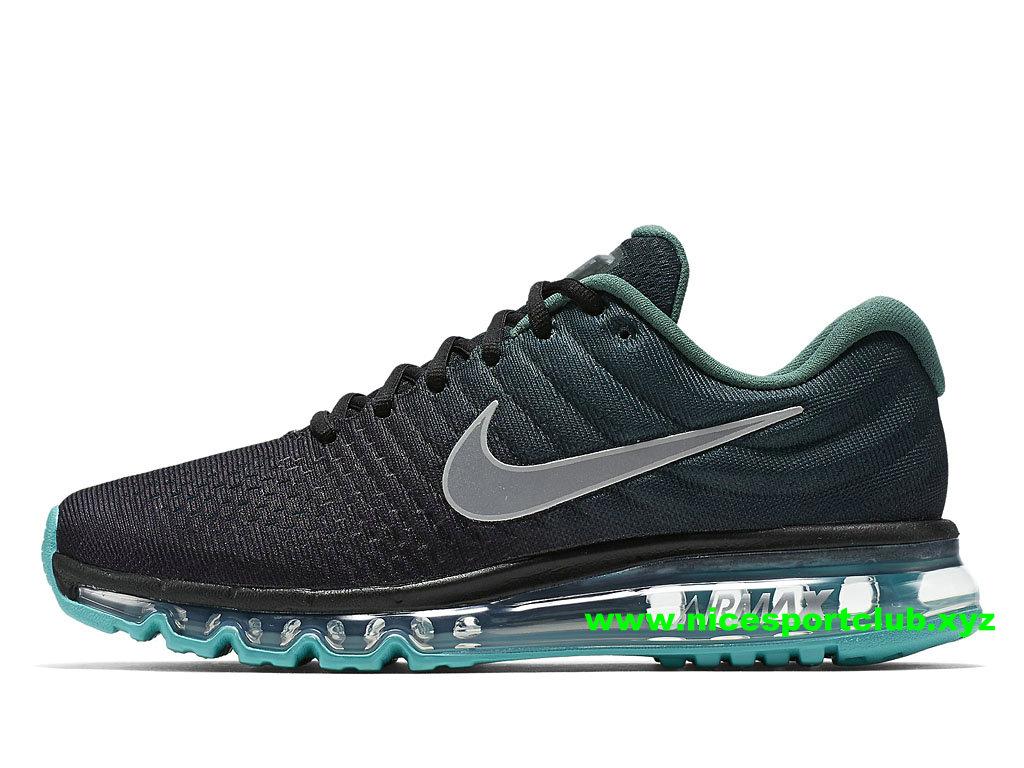Chaussures De Running Homme Nike Air Max 2017 Pas Cher NOirVertGris