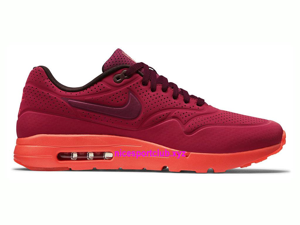 Chaussures De Running Nike Air Max 187 Ultra Moire Prix Homme Pas Cher Gym RedTeam RedUniversity