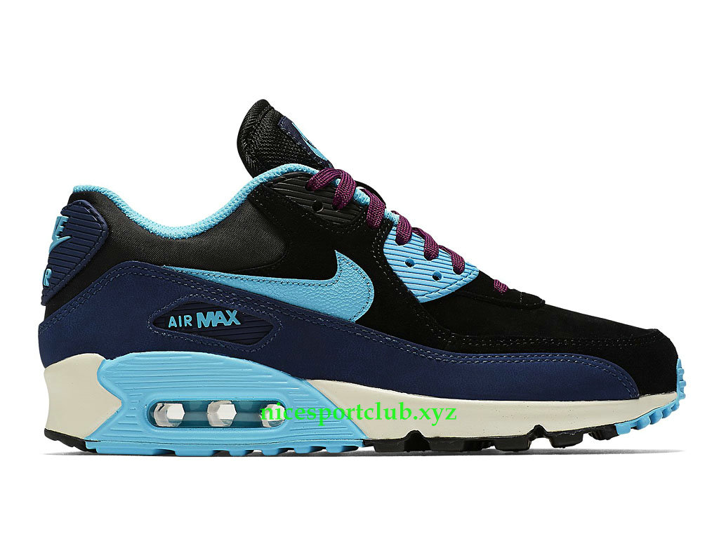 Nike Air Max 90 Essential Sport Club Chaussures Pas Cher Pour Femme NoirGrisOrange 616730_021