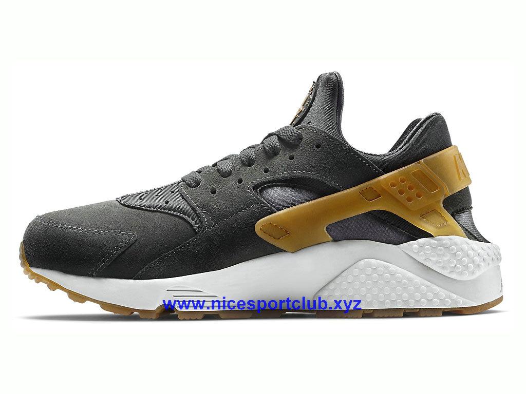 Sport Nike Air Chaussures Cher Pas Homme Huarache NoirOrGris a4Z7w d3769710741