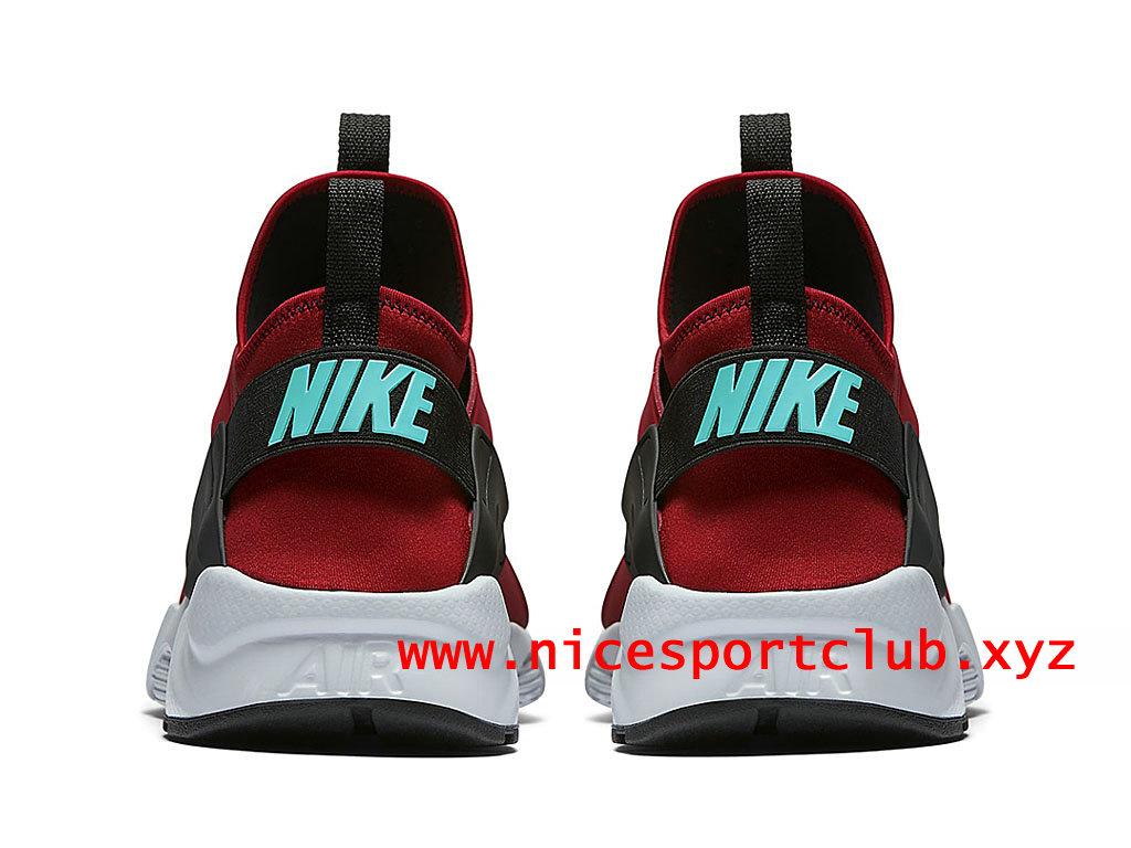 Chaussures Homme Nike Air Huarache Ultra Prix Pas Cher Nice Sport Club RougeNoir 819685_600