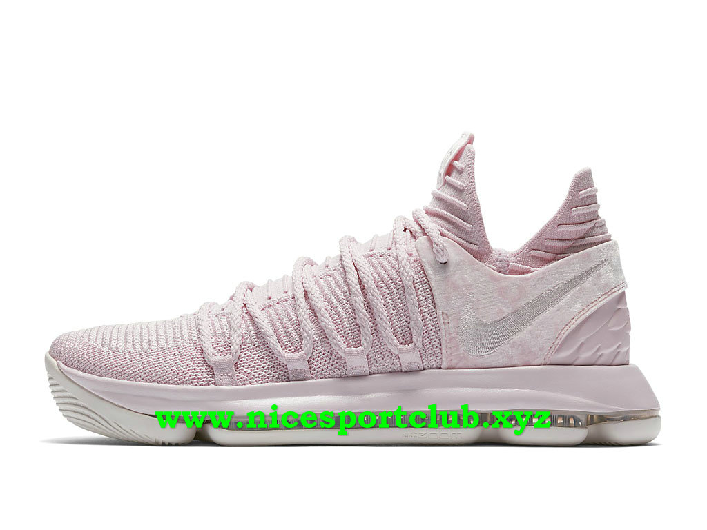 Chaussures Homme Nike KD 10 Aunt Pearl Prix Pas Cher Rose AQ4110_600
