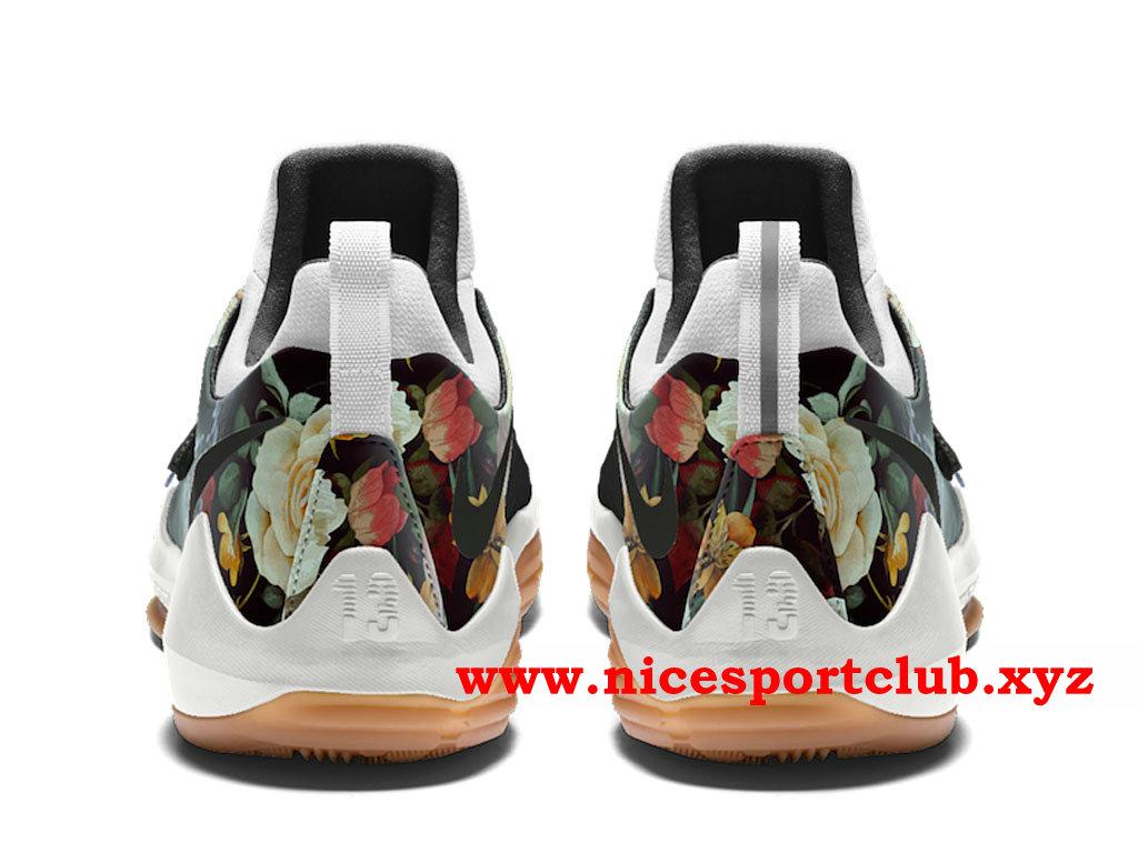 Chaussures Homme Nike PG 1 Floral Print Prix Pas Cher Noir