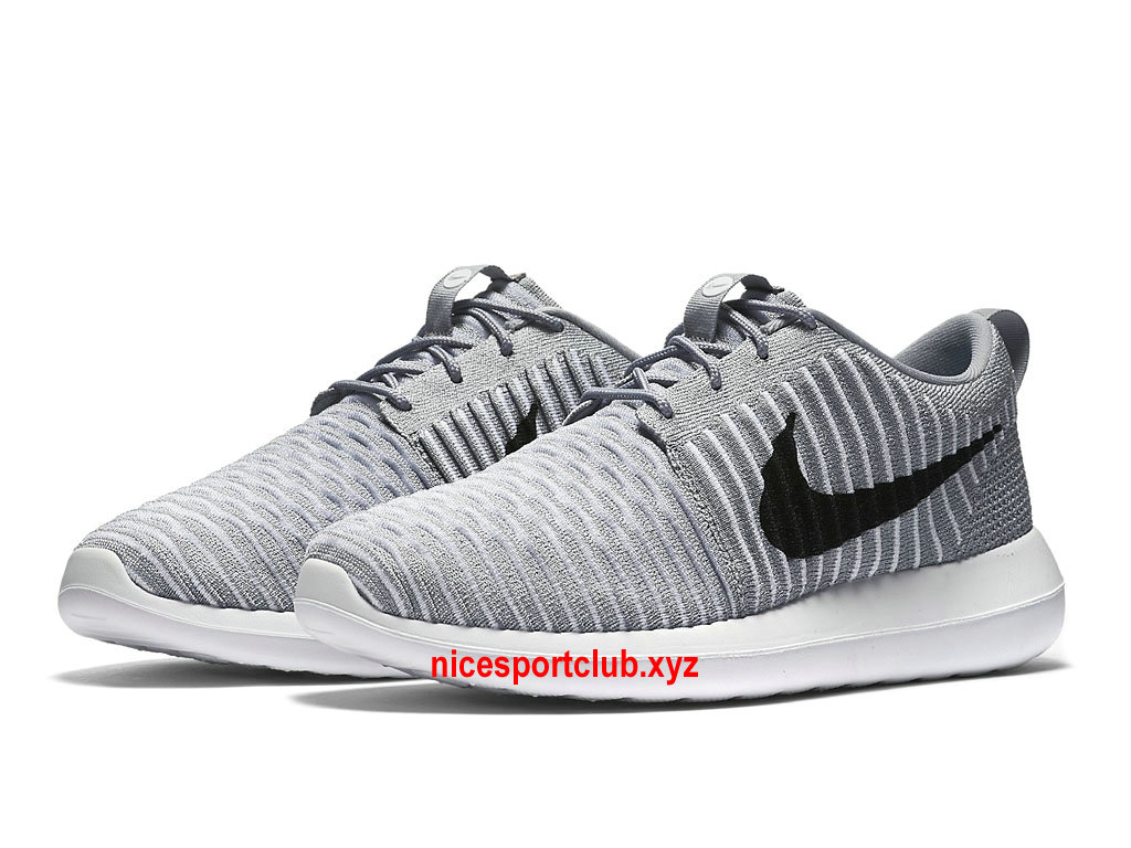 super populaire 6bdb1 eb1ad new style nike roshe two flyknit gris rouge cc9cb 23db5