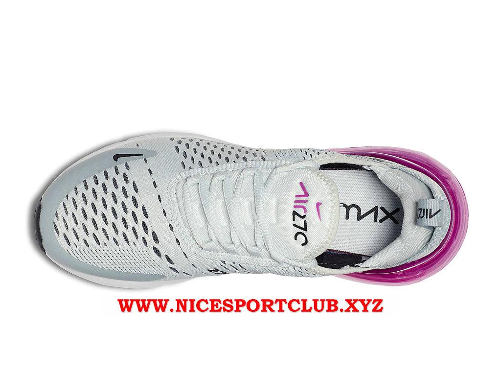 pretty nice dba8b 66b99 GrisBlancPourpre Air Chaussures 270 Femme Cher Prix Nike Max Pas UX0xwdU