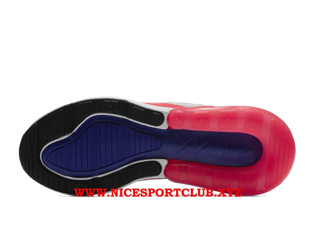 Chaussures Nike Air Max 270 Femme Pas Cher Prix GrisRoseBleuBlanc AH6789_101