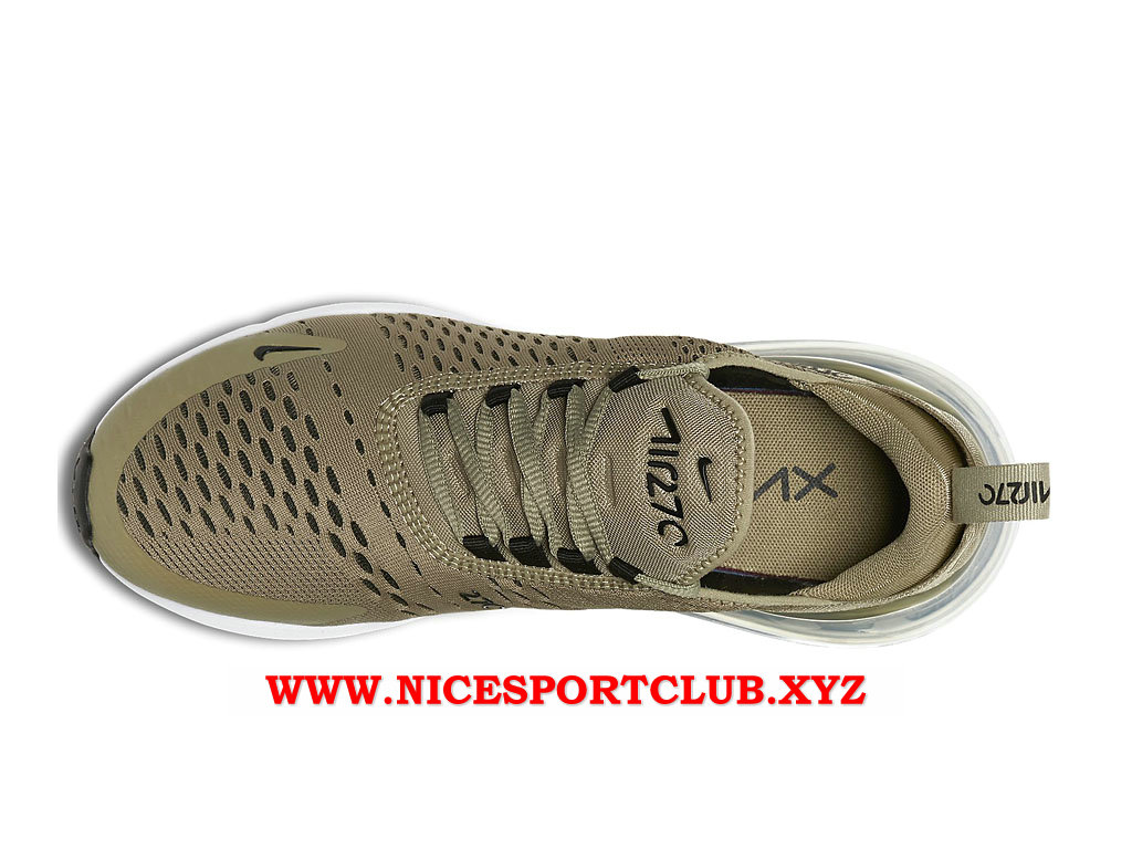 Chaussures Nike Air Max 270 Femme Pas Cher Prix Olive Green Black AH6789_200