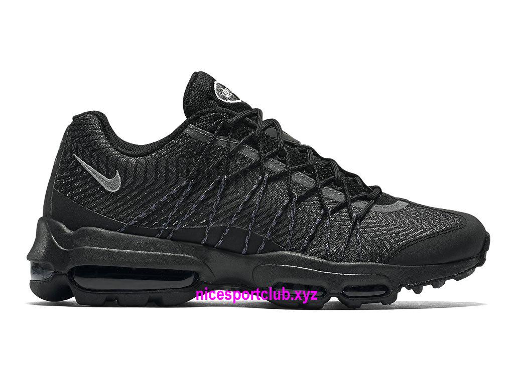 Chaussures Nike Air Max 95 Ultra Jacquard Prix BasketBall Pas Cher Pour Femme Noir