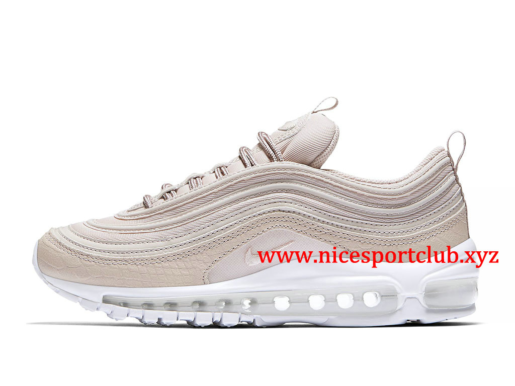 Chaussures Nike Air Max 97 PRM Femme Pas Cher Prix Silt Red 917646_600