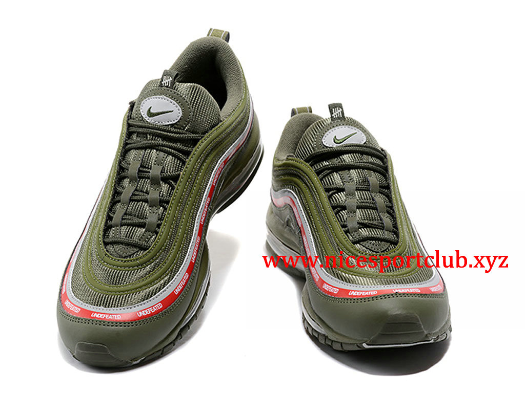 Chaussures Nike Air Max 97 UNDFTD Femme Pas Cher Prix Olive Green AJ1986 300