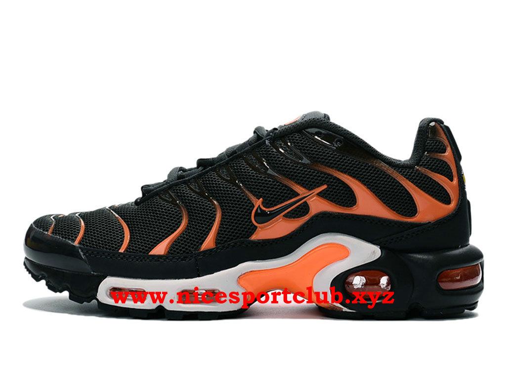 chaussure nike noir et orange