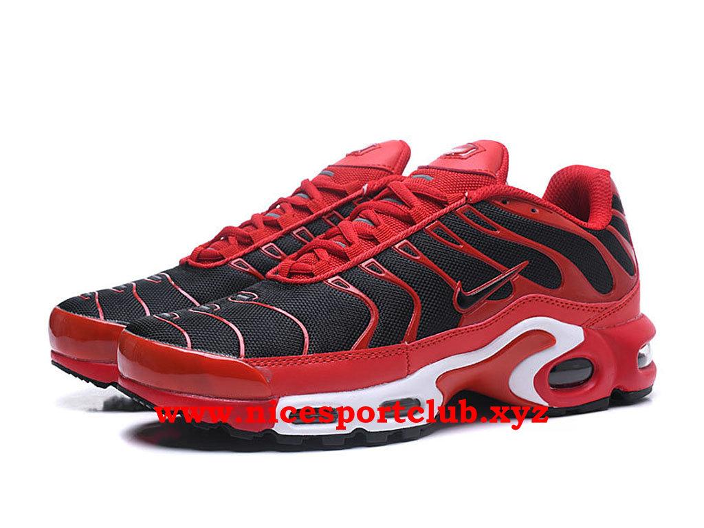 chaussure nike rouge et noir