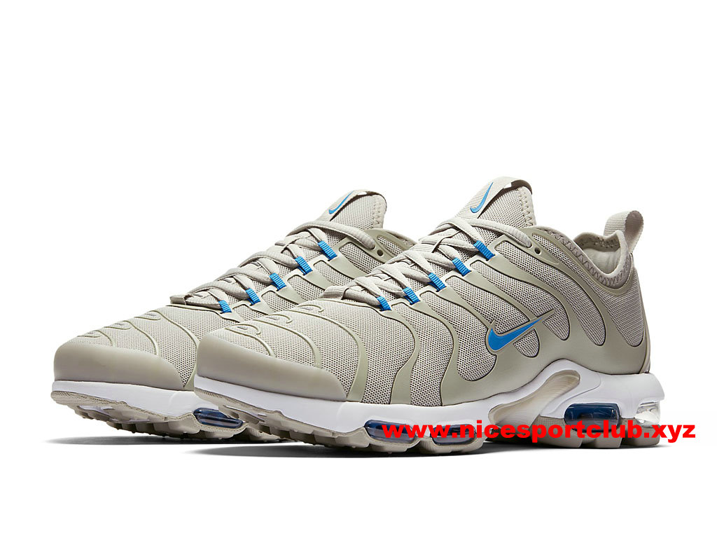 Chaussures Nike Air Max Plus TN Ultra Prix Homme Pas Cher BeigeBleu 898015_100