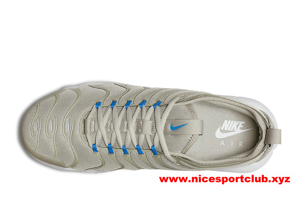 ... Chaussures Nike Air Max Plus TN Ultra Prix Homme Pas Cher Beige Bleu  898015 100 ... 1801170004d2