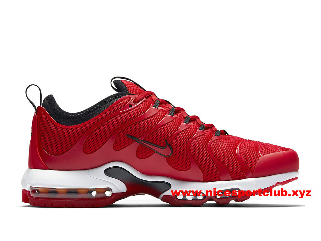 chaussures air max rouge