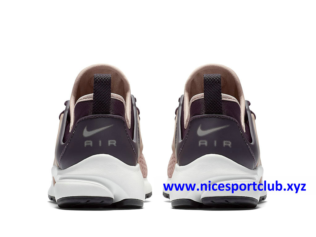 Chaussures Nike Air Presto Femme Pas Cher Prix Rose Brun  evMf6
