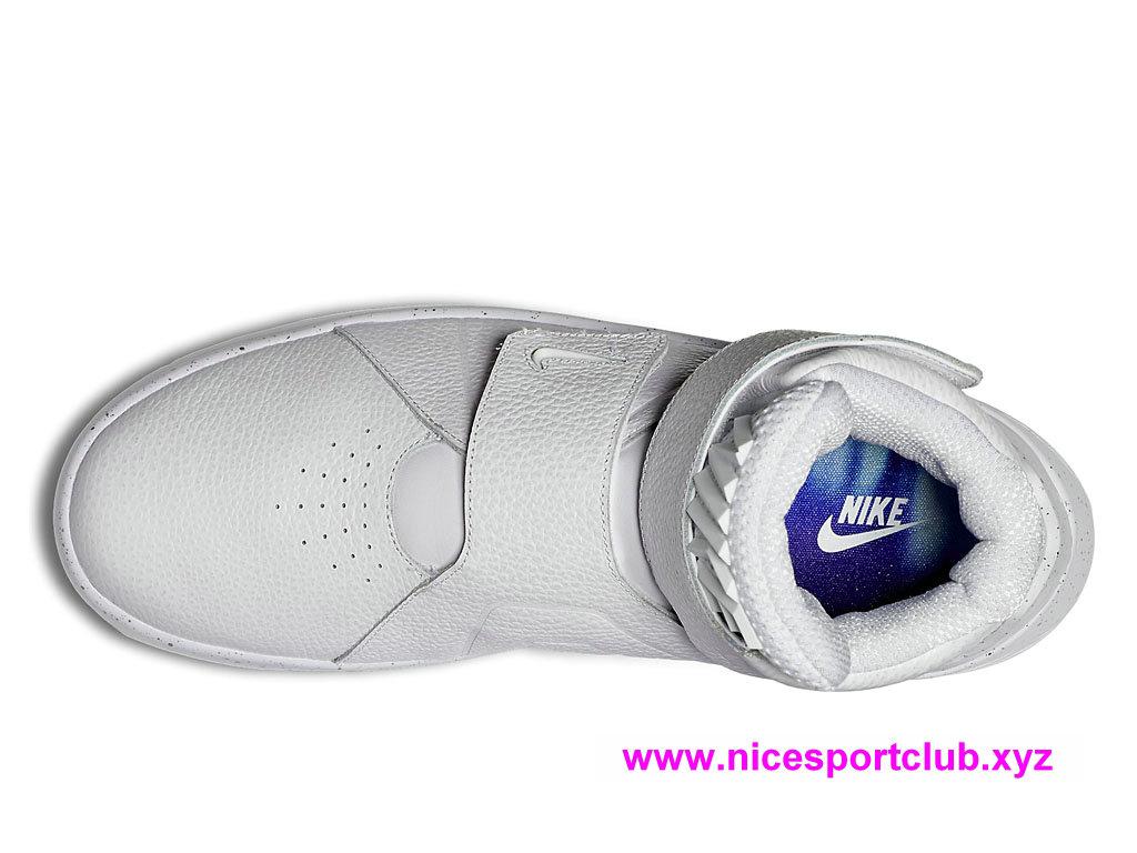 best authentic 754e4 75ba7 ... Chaussures Nike Marxman Premium Prix Pas Cher Pour Homme Blanc  840597_100 ...