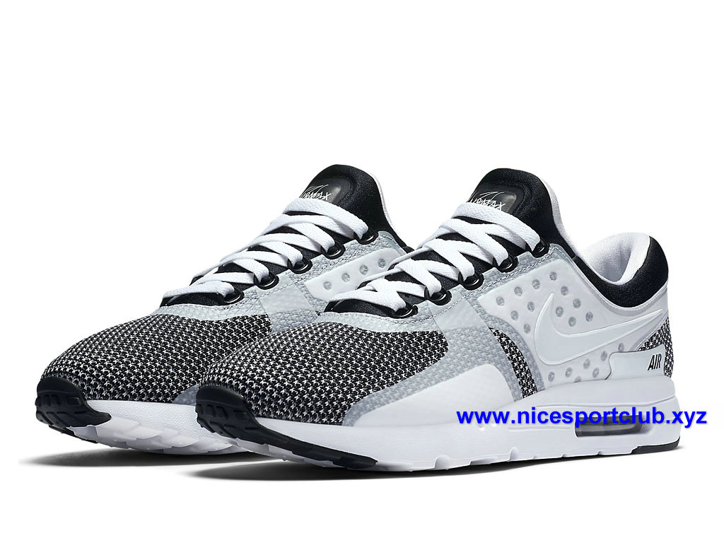 on sale ca402 f3fb4 Homme Cher Max Oreo Blanc Prix Nike Chaussures Pas Zero Running Air RPnqOg