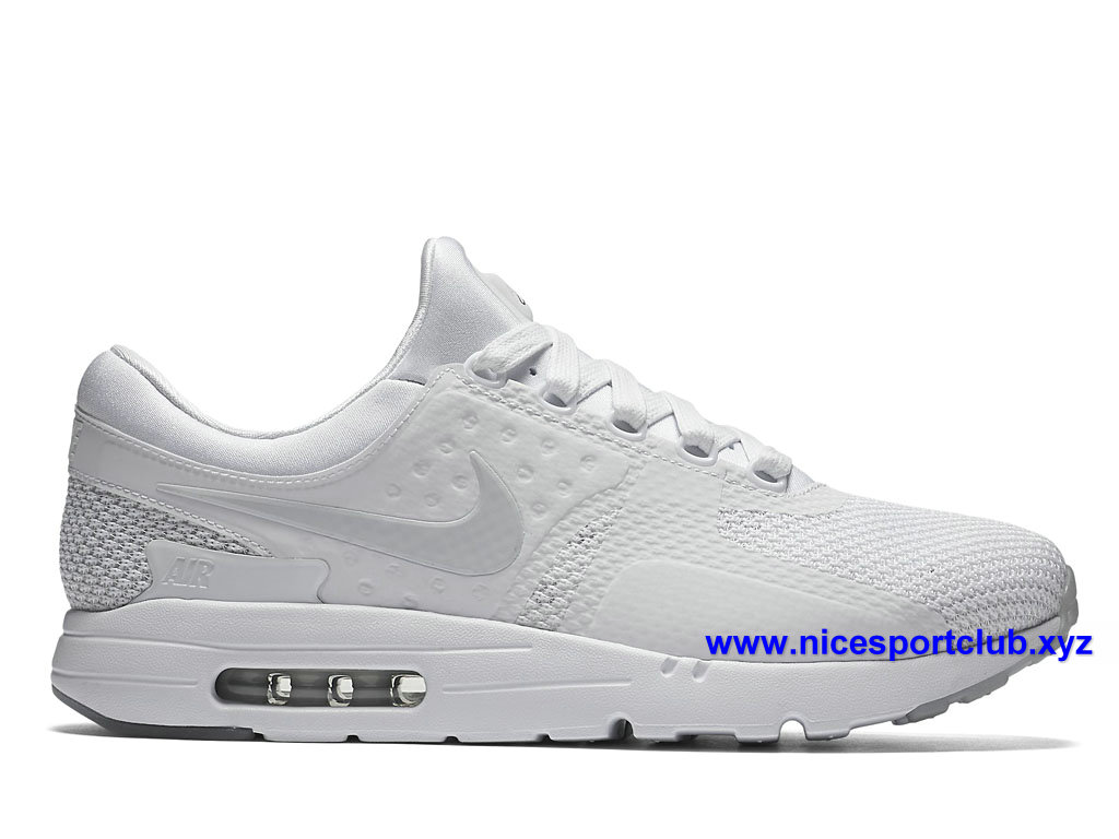 Chaussures Running Nike Air Max Zero Prix Homme Pas Cher Blanc Gris  789695 102 5f473e3731dd
