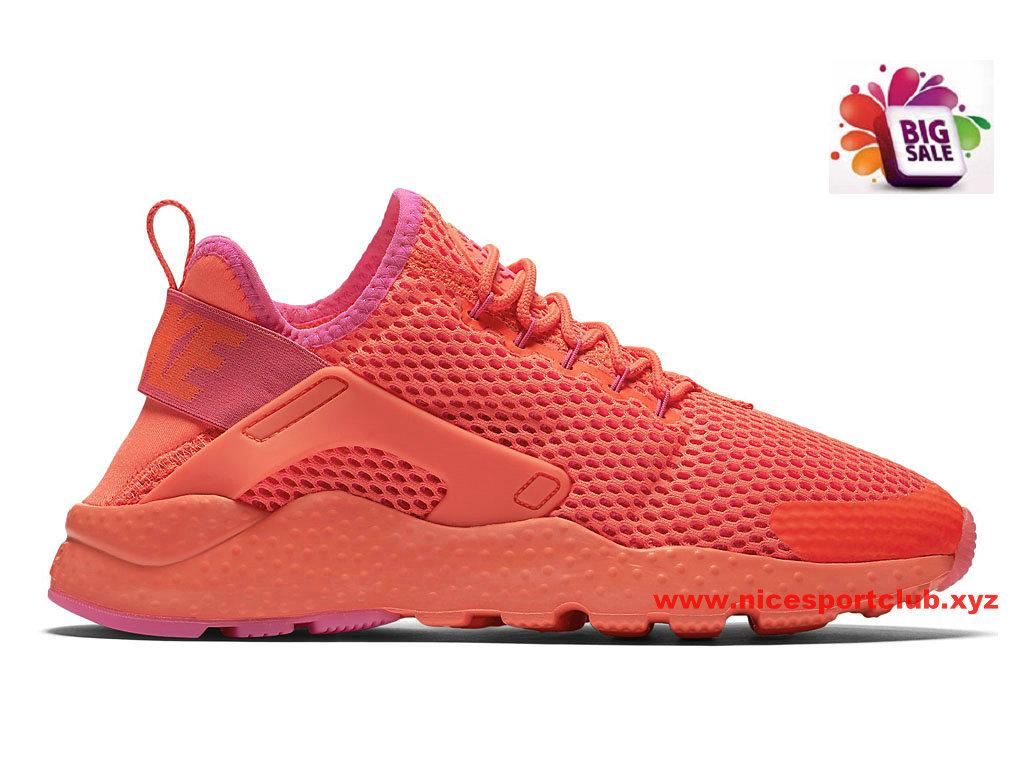 Nike Air Huarache Ultra Breathe Femme Pas Cher Rouge 833292_800 Air Huarache Pas Cher