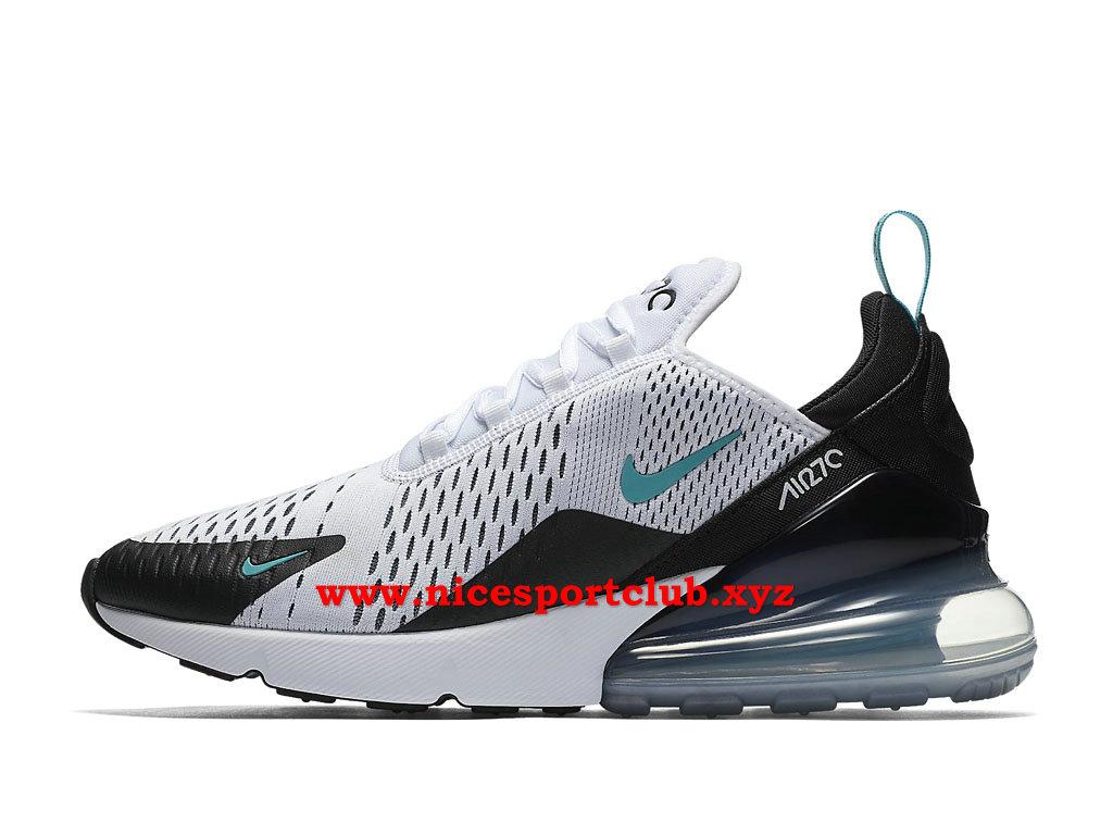 Nike Air Max 270 Chaussures Homme Pas Cher Prix BlancBleuNoir AH8050_001