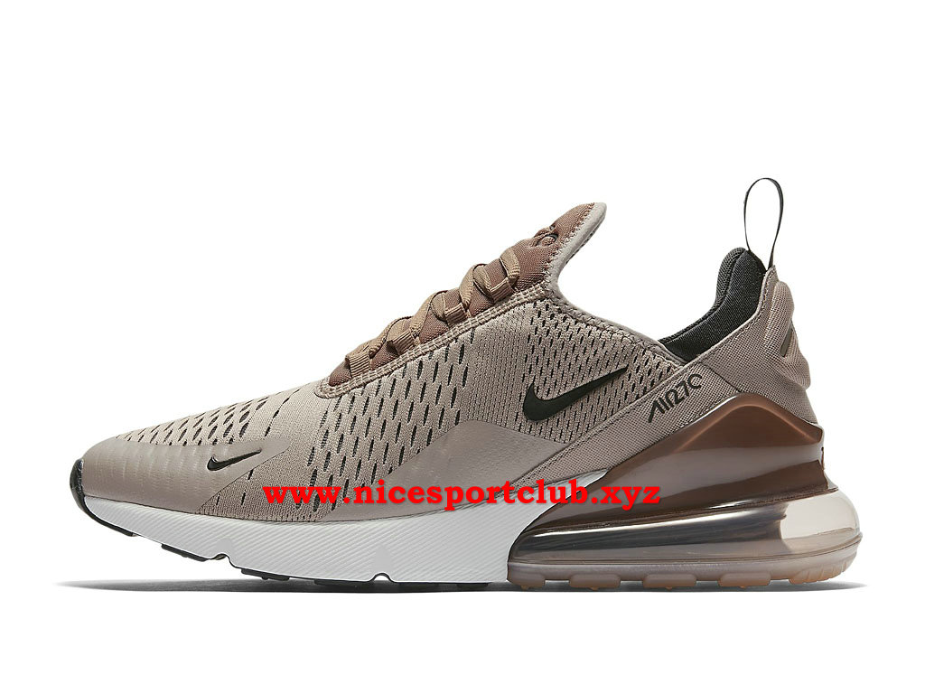 Nike Air Max 270 Chaussures Homme Pas Cher Prix BrunNoirBlanc AH8050_200