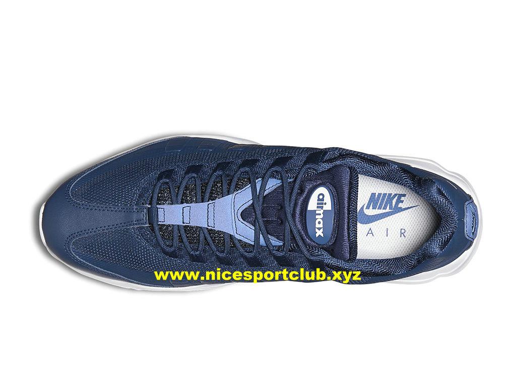info for b3667 97672 ... Nike Air Max 95 Ultra Essential Prix Pas Cher Chaussures Pour Homme Bleu Blanc  857910 401 ...