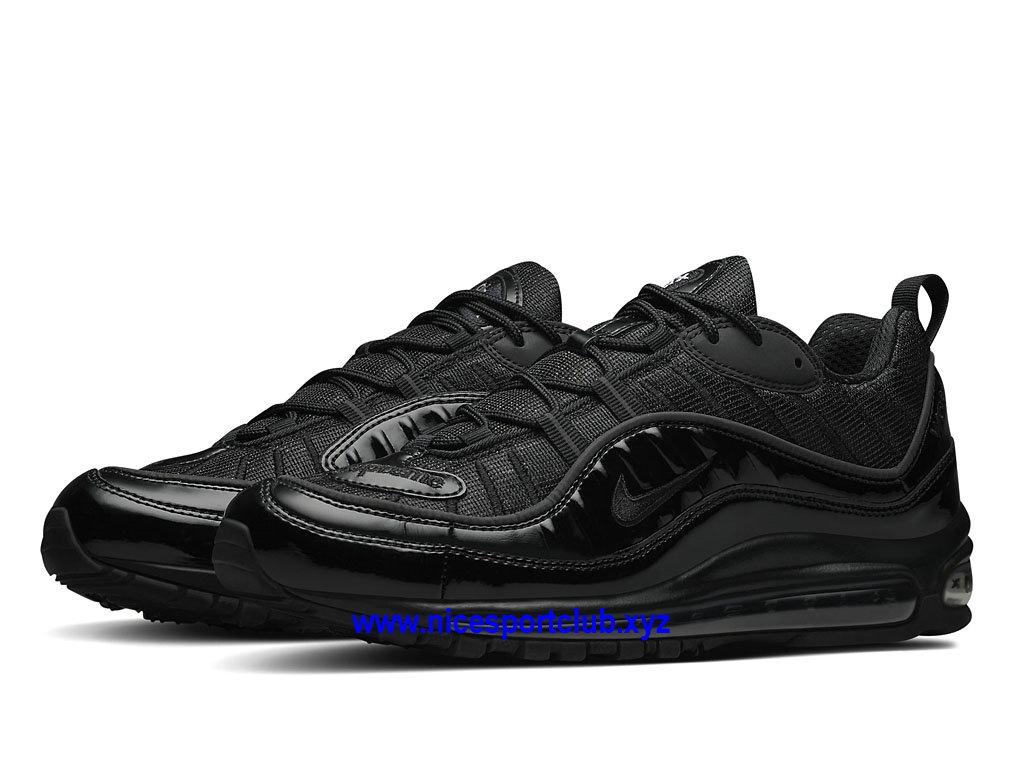 Nike Air Max 98 Prix Chaussures De BasketBall Pas Cher Pour Homme Noir 844694_001