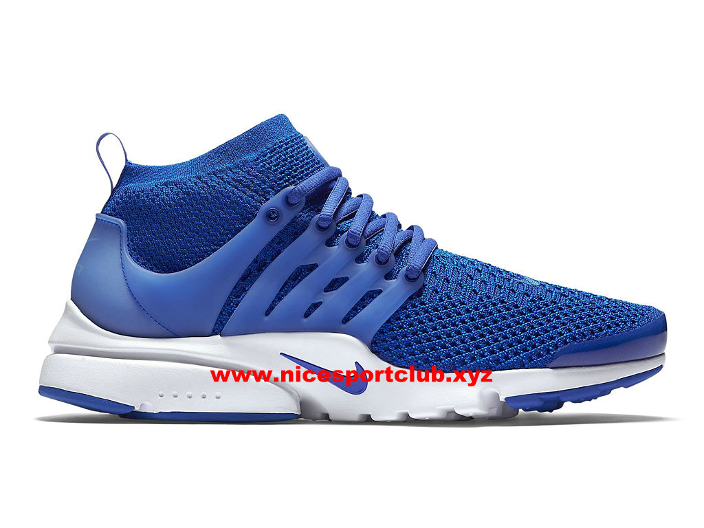 Nike Air Presto Flyknit Ultra Prix Chaussures Homme Pas Cher Bleu 835570_400