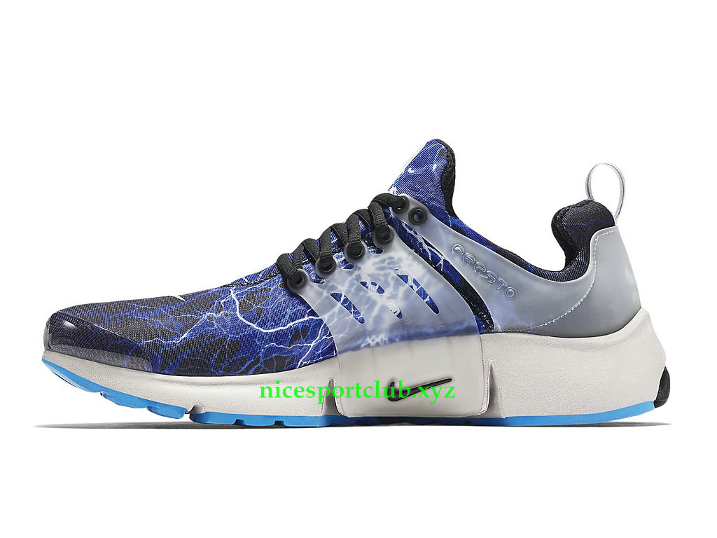 Nike Air Presto Lightning Chaussures Pas Cher Pour Homme Black Zen Grey Harbor Blue 789870_004
