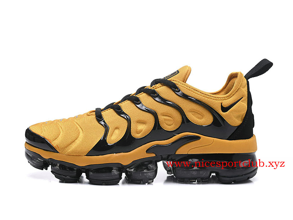 nike air vapormax plus jaune