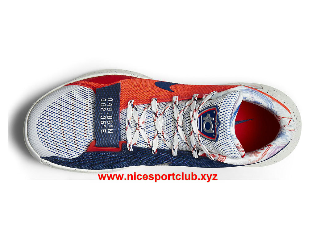 reputable site e5c79 548f5 ... free shipping nike kd trey 5 iii prix chaussures de basketball pas cher pour  homme rouge ...