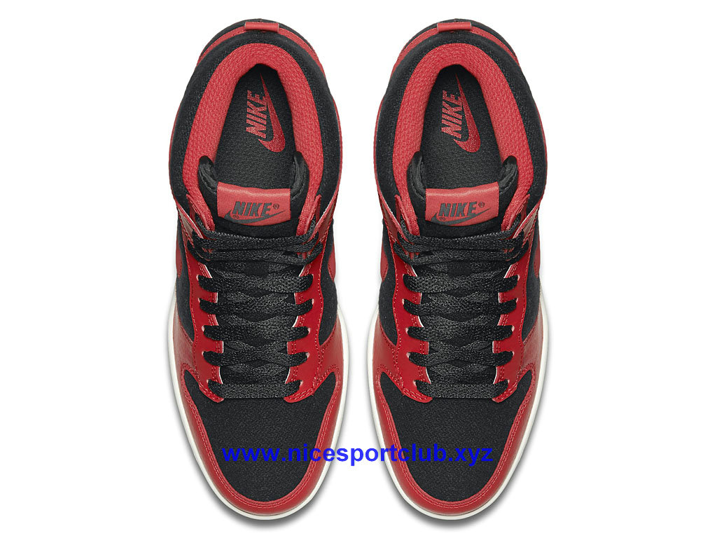 reputable site e290e 37c68 Nike WMNS Dunk Sky Hi Essential Femme Rouge Noir 644877 015 .