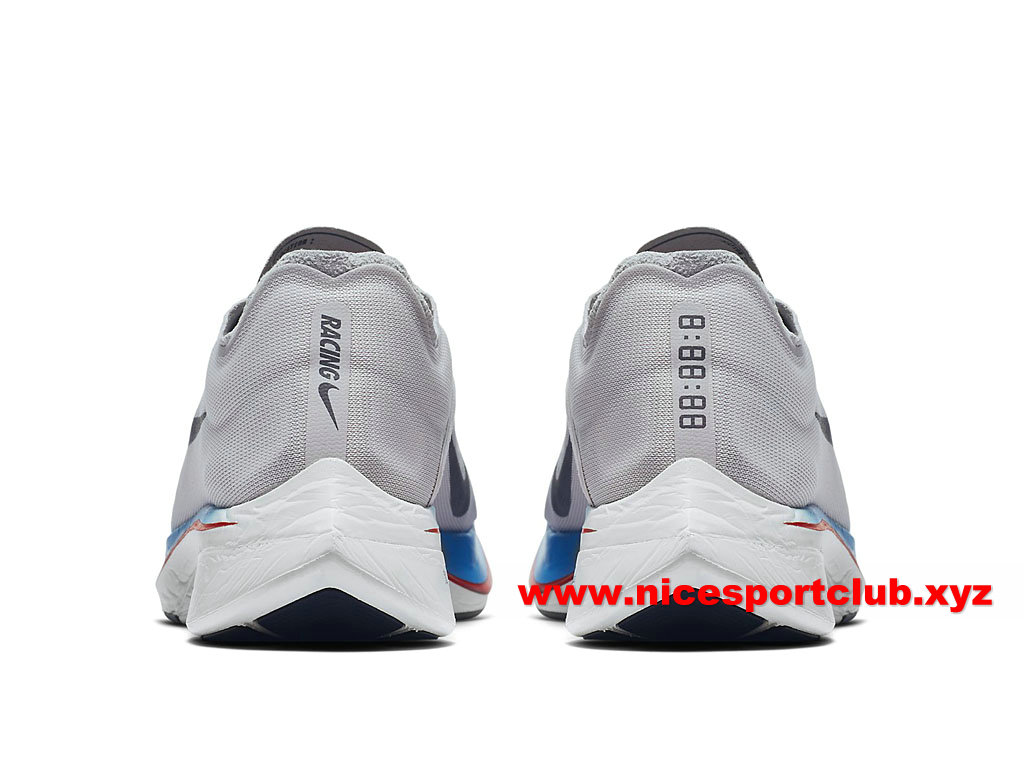 Nike Zoom Fly Chaussures De Running Pas Cher Prix Pour Homme Blanc Gris Bleu 880847_004