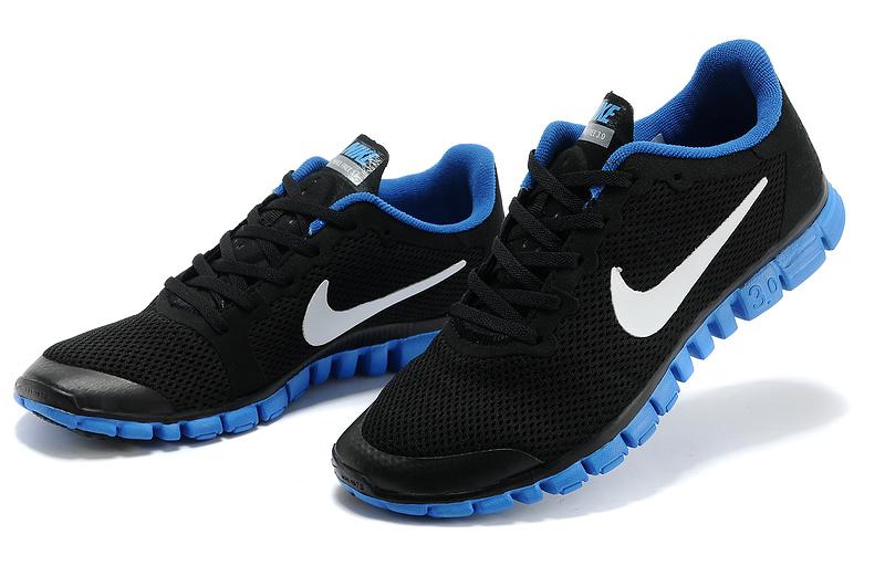 chaussure nike bleu homme